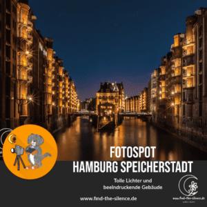 Fotospot Hamburg Speicherstadt