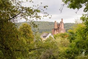 Burgenidyll in der Eifel