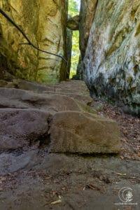 Die Teufelsschlucht im Südwesten der Eifel