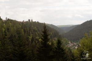 Berge, Täler, Burgen