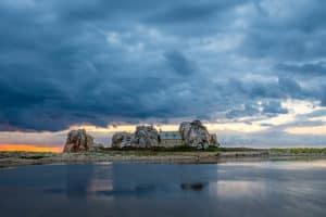 Bretagne - Das Haus zwischen den Felsen