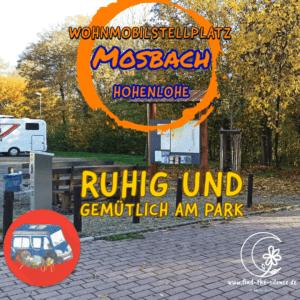 Stellplatz Mosbach - ruhig und gemütlich am Park