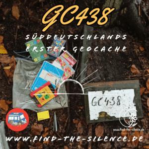 GC438 - Süddeutschlands erster Geocache