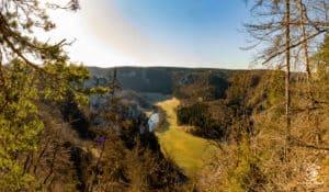 Blick übers Donautal